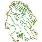 نقشه-خطوط-هم-بارش-استان-خوزستان