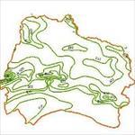 نقشه-خطوط-هم-بارش-استان-خراسان-شمالی