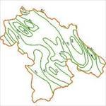 نقشه-خطوط-هم-بارش-استان-کهگیلویه-و-بویراحمد
