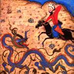 بررسی-نقش-اژدها-در-شاهنامه-دموت-و-بایسنقری
