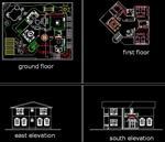 پلان-معماری-اتوکد-طرح-11