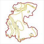 نقشه-منحنی-های-هم-تبخیر-استان-مرکزی
