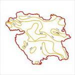 نقشه-منحنی-های-هم-تبخیر-استان-کردستان