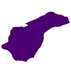 شیپ فایل محدوده سیاسی شهرستان مینودشت (واقع در استان گلستان)