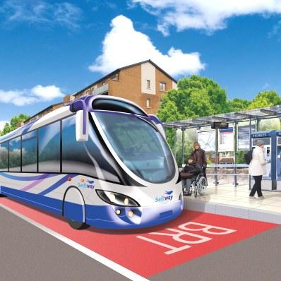 سیستم حمل و نقل هوشمند کنترل چراغ های راهنمایی در مسیرهای اتوبوس تندرو