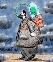 آلودگی هوا و چگونگی تشکیل باران اسیدی