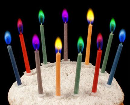 دانلود طرح توليد شمع با شعله های رنگی (قرمز، آبی، سبز)