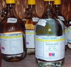 طرح کارآفرینی تولید اسید سولفوریک