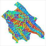 نقشه-ی-رستری-جهت-شیب-شهرستان-اردل-(واقع-در-استان-چهارمحال-و-<font style=